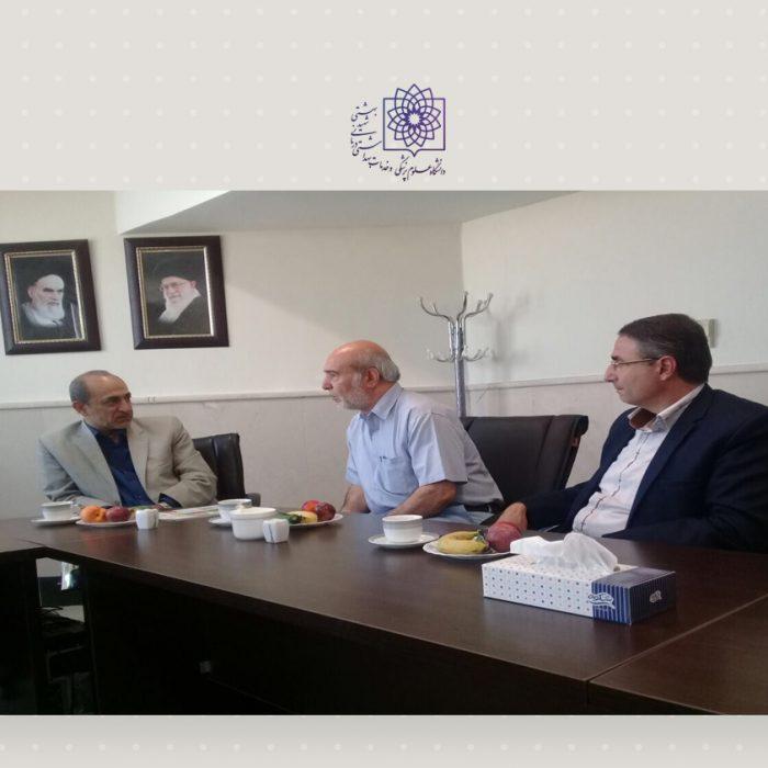 دیدار مسئولین درمانگاه حیدریها با ریاست مجتمع